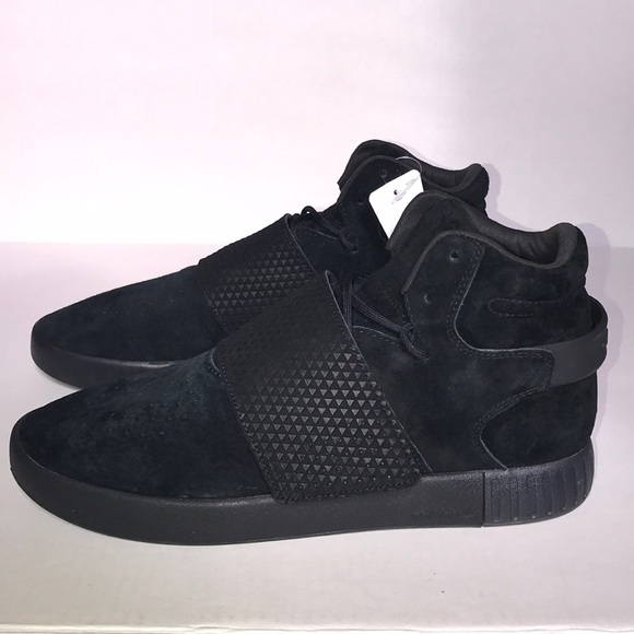 NEW Adidas | Men's Black Suede Tubular Sneakers NWT